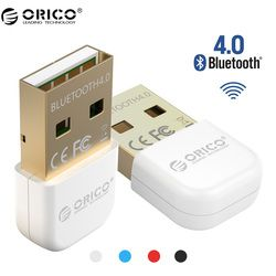 ORICO BTA-403 Bluetooth Mini Bluetooth 4.0 Adapter For Your Phone and Tablet- White