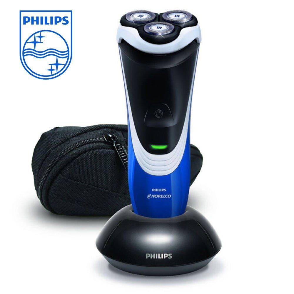 Philips Norelco PT724/41 Shaver with Integrated Pop Up Trimmer There Floating Heads LED indication for Men's Electric Razor