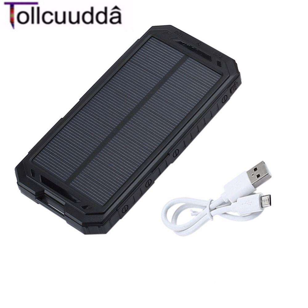 10000 mAh Tollcuudda LHSJ01 Ultra Light Power Bank Batería Externa Portátil de Doble Interfaz USB Cargador Rápido Para El teléfono