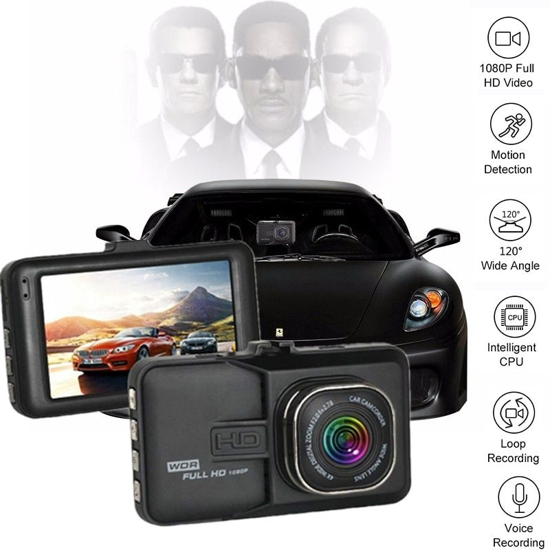Mini 3.0 Inch Car Dvr Full HD 1080P Dash Cam Camcorder Video Recorder DVR Automotive Car Camera <font><b>Registrator</b></font> Dash Camera