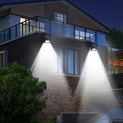 Solar light Outdoor Garden Security Led Solar Powered Panel Lamp Wall Lampada PIR Motion Sensor Waterproof IP65 Decorative