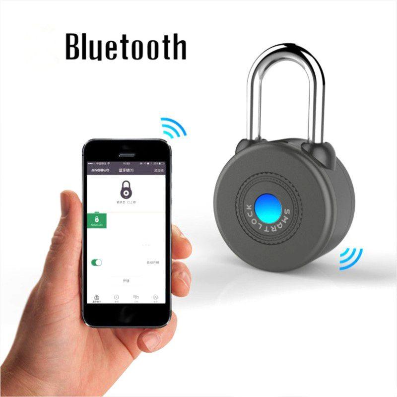 Новый Дизайн smart bluetooth замка сигнализация Lock Беспроводной Управление замок smart lock для IOS приложение для Android Управление