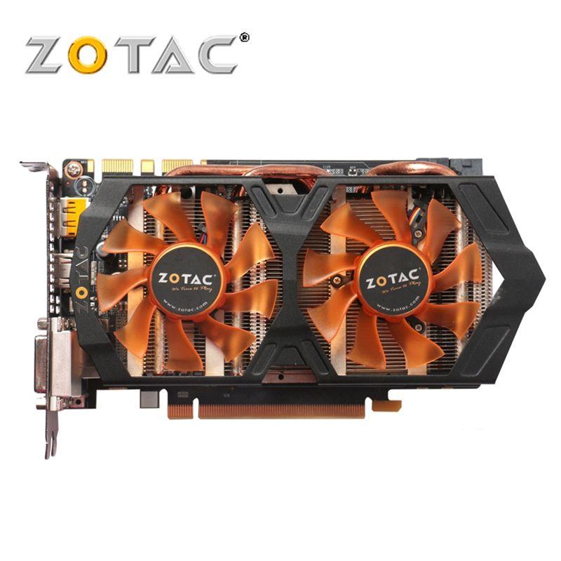 100% Original ZOTAC Video Card GeForce GTX 660 2GB GPU 192Bit GDDR5 Graphics Cards for nVIDIA Map GTX660 2GD5 GK106 Hdmi Dvi