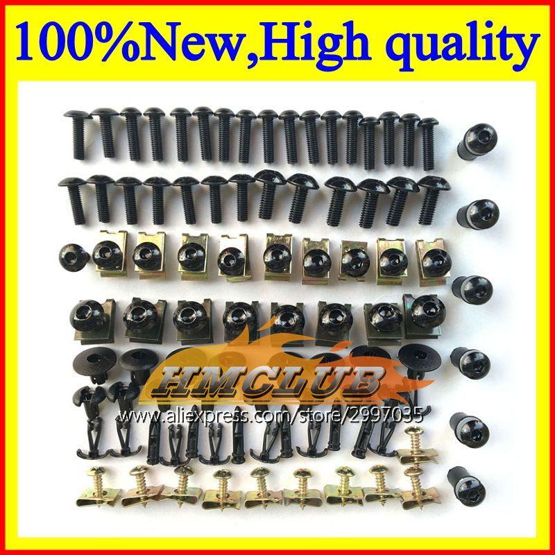 Fairing bolts full screw kit For KAWASAKI NINJA ZZR600 05 06 07 08 ZZR 600 2005 2006 2007 2008 05-08 Windscreen screws Nuts bolt