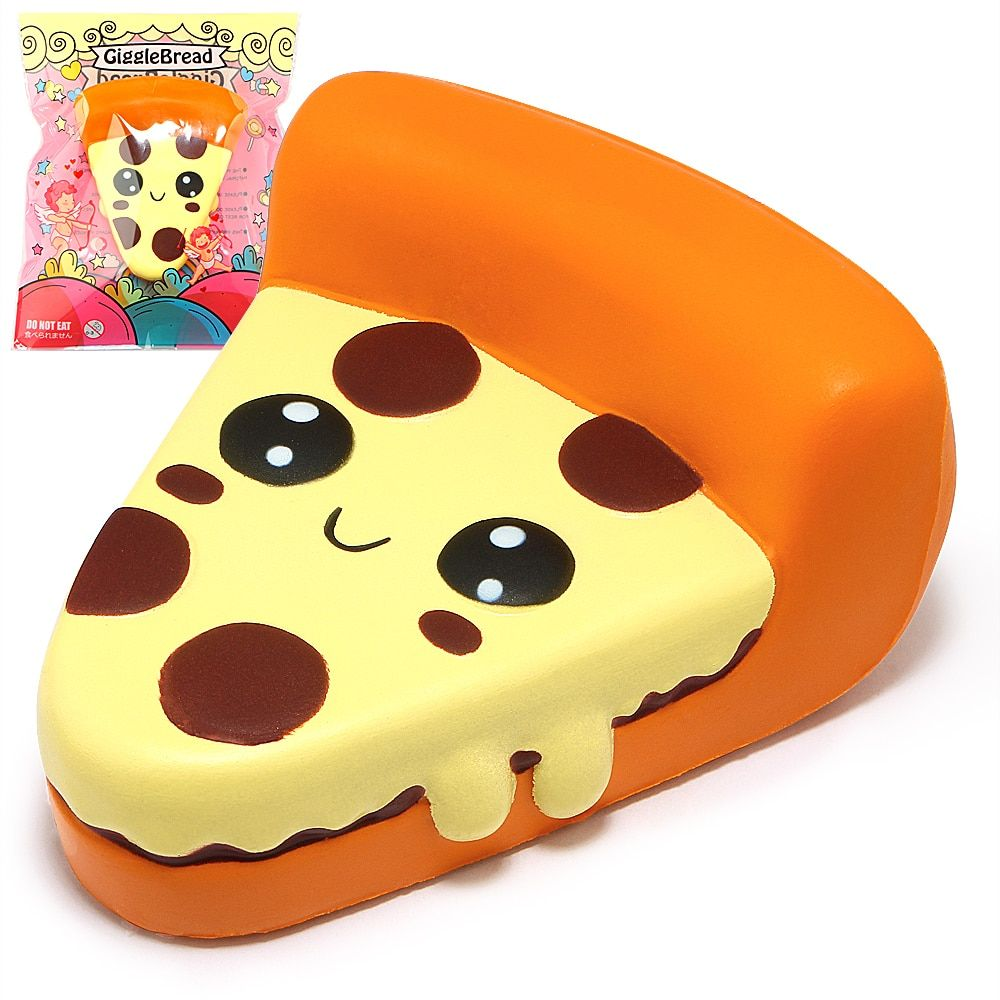 Kawaii Squishy Pizza Squishies Cream Scented Slow Rising Kids Toys Stress Relief Toy