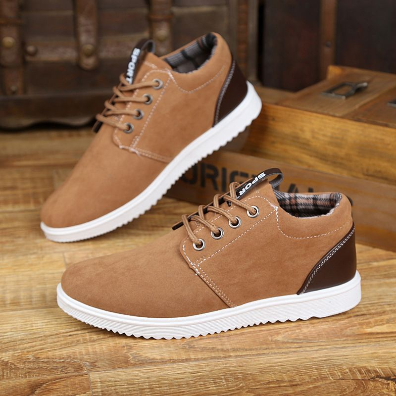 2017 New Fashion  Men's Spring And Autumn Men 's Casual Shoes Leisure Shoes For Men Shoes Plus Brish Fashion Trend shoes