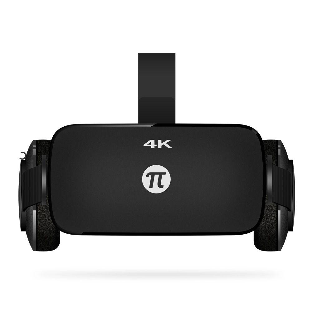Оригинальный pimax 4 К vr-шлем картона виртуальной реальности Очки мобильного телефона 3d Видео Movie гарнитура с наушником PC 110 градусов