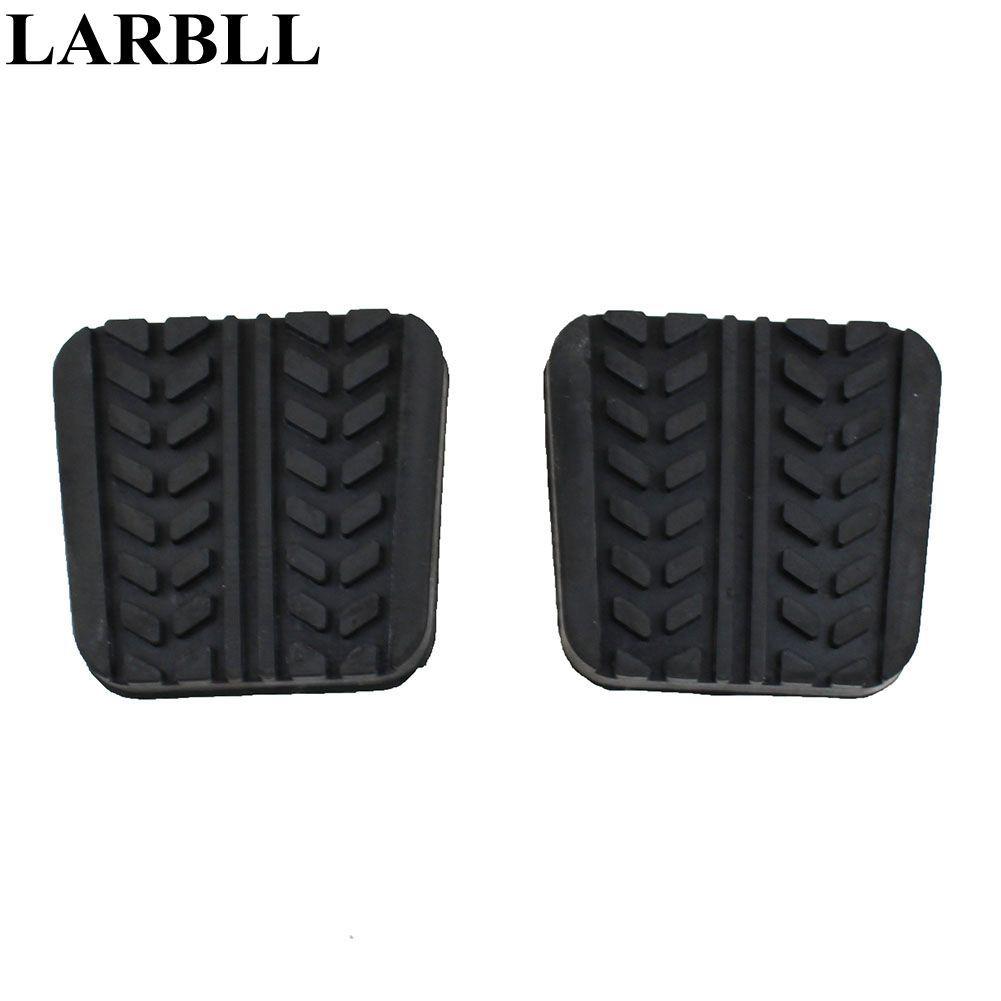 LARBLL Paar Bremse Kupplung pedal pad Abdeckung Für Mazda 323 626 929 B-Serie B2200 B2600 Bravo E1400 E1800 MPV MX6 Premacy RX-7