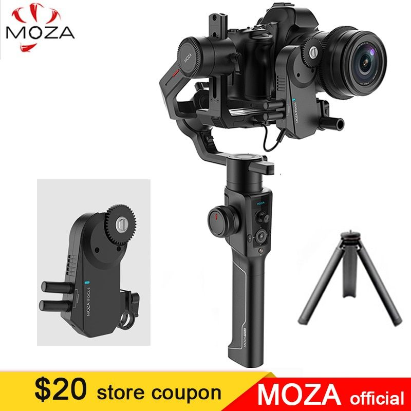 In Stock Moza Air 2 3-Axis Handheld Stabilizer for Canon Nikon Sony A7S A7R3 Lumix GH4 DSLR Mirrorless Cameras,Payload 4.2kg