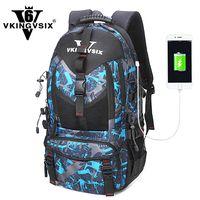 Mochila para ordenador portátil VKINGVSIX 14-17 pulgadas USB mochila escolar impermeable adolescentes niño niña 1-6 grado mujeres hombres mochila