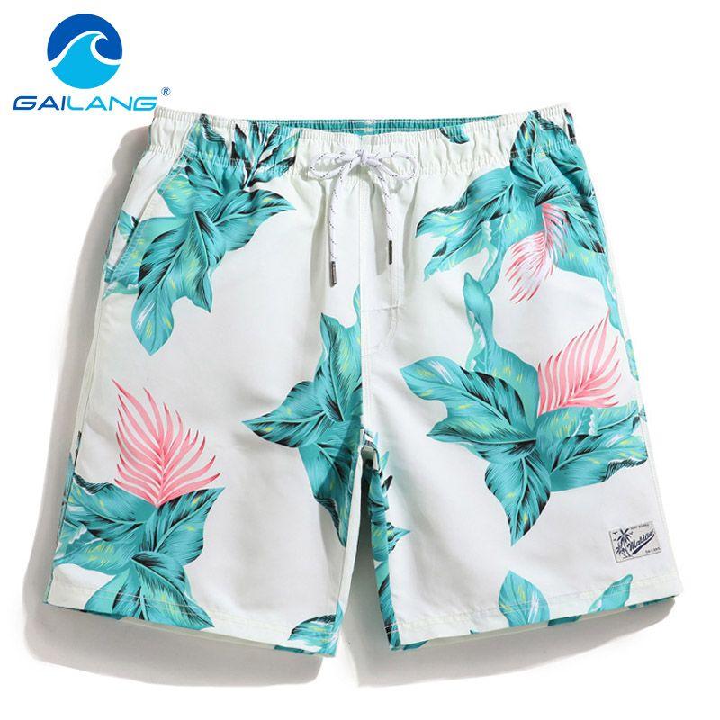 Gailang Brand Men's Beach Shorts Board Boxer Trunks Shorts Quick Drying Boardshorts Fashion Men Swimwear Swimsuits Sweatpants