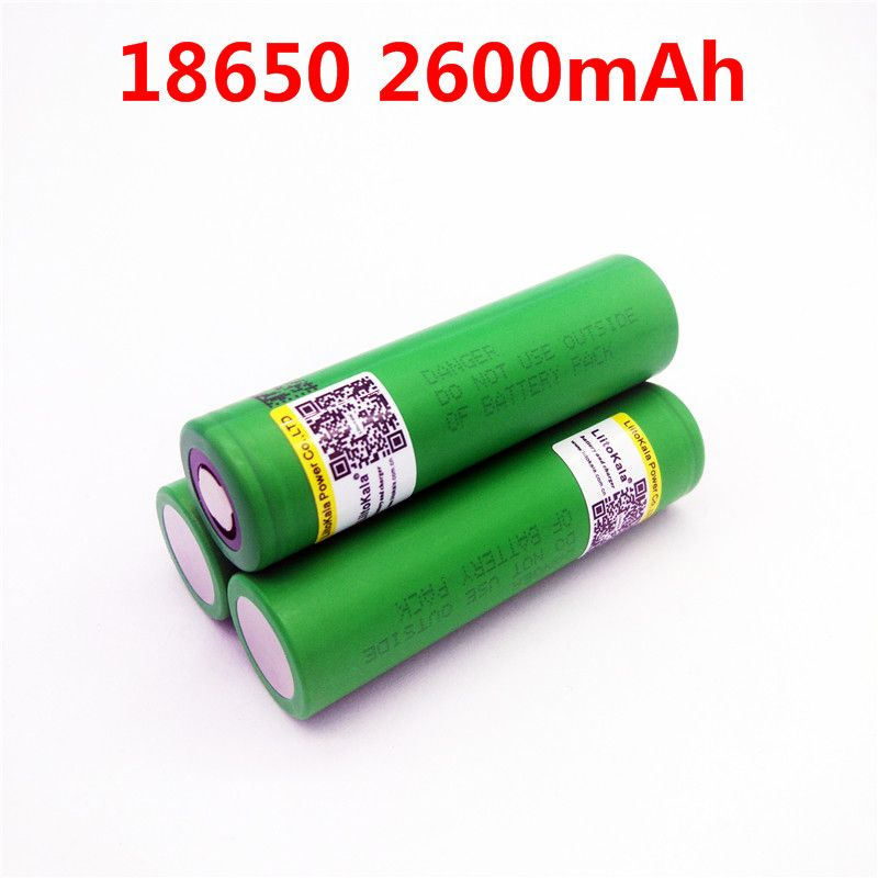 100% 3.6V original Liitokala For Sony 18650 2600mAh rechargeable battery US18650 VTC5 High drain 30A discharge battery