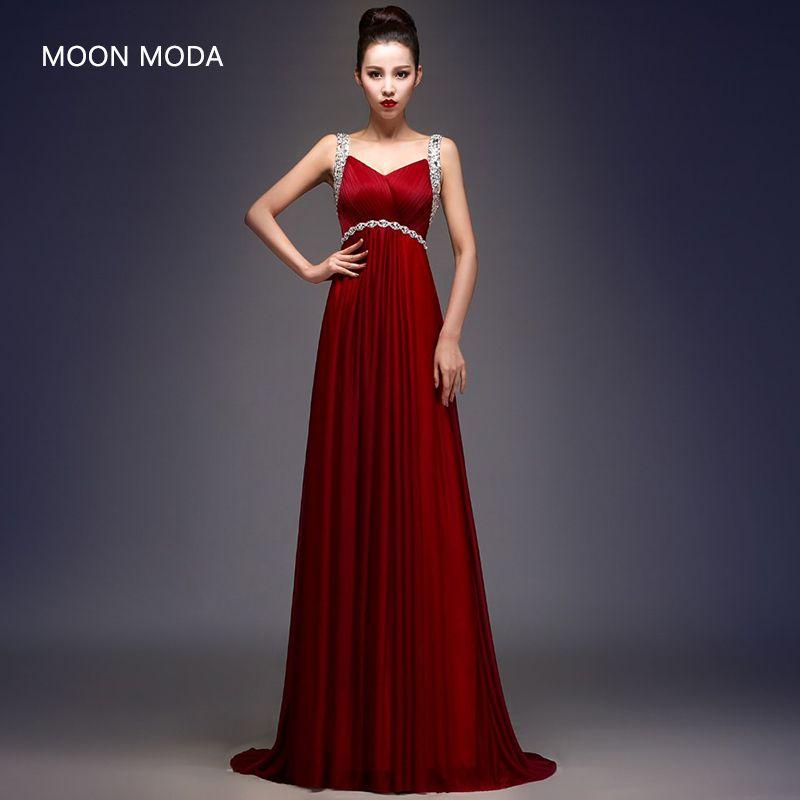 Robe de soirée élégante pour les femmes enceintes robes 2018 partie robe de bal robe de soirée robes de fiesta largos elegantes
