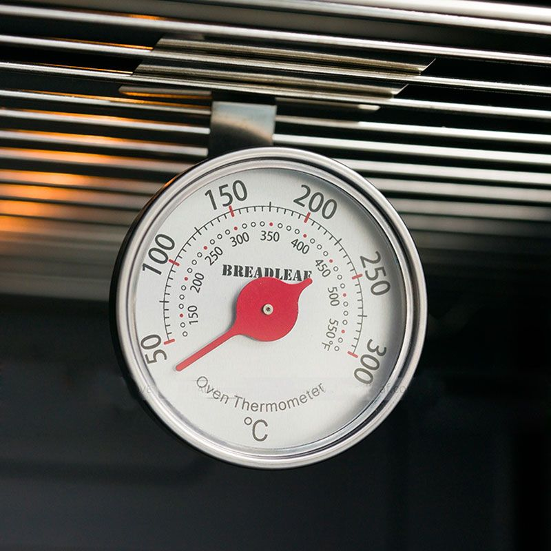 Thermomètre de cuisine en acier inoxydable pour four thermomètre de cuisson peut accrocher le gril thermomètre alimentaire à Angle réglable en hauteur