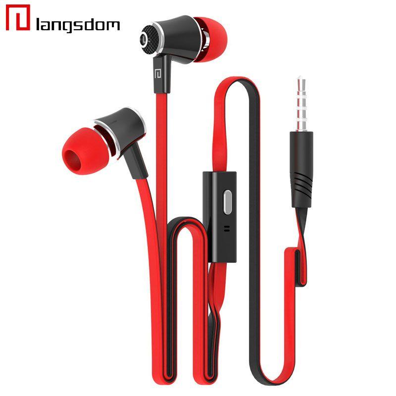 Original Brand Kopfhörer Kopfhörer Beste Qualität Mit MIC 3,5 MM Klinke Stereo Bass Für iphone Samsung Handy MP3 MP4 Laptop