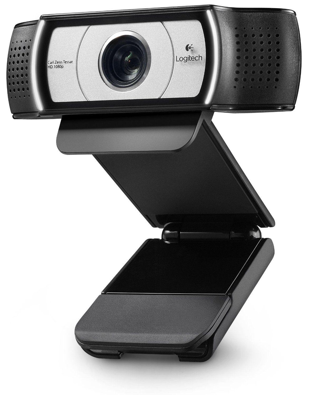 Logitech C930e USB Desktop oder Laptop Webcam, HD 1080 p Kamera