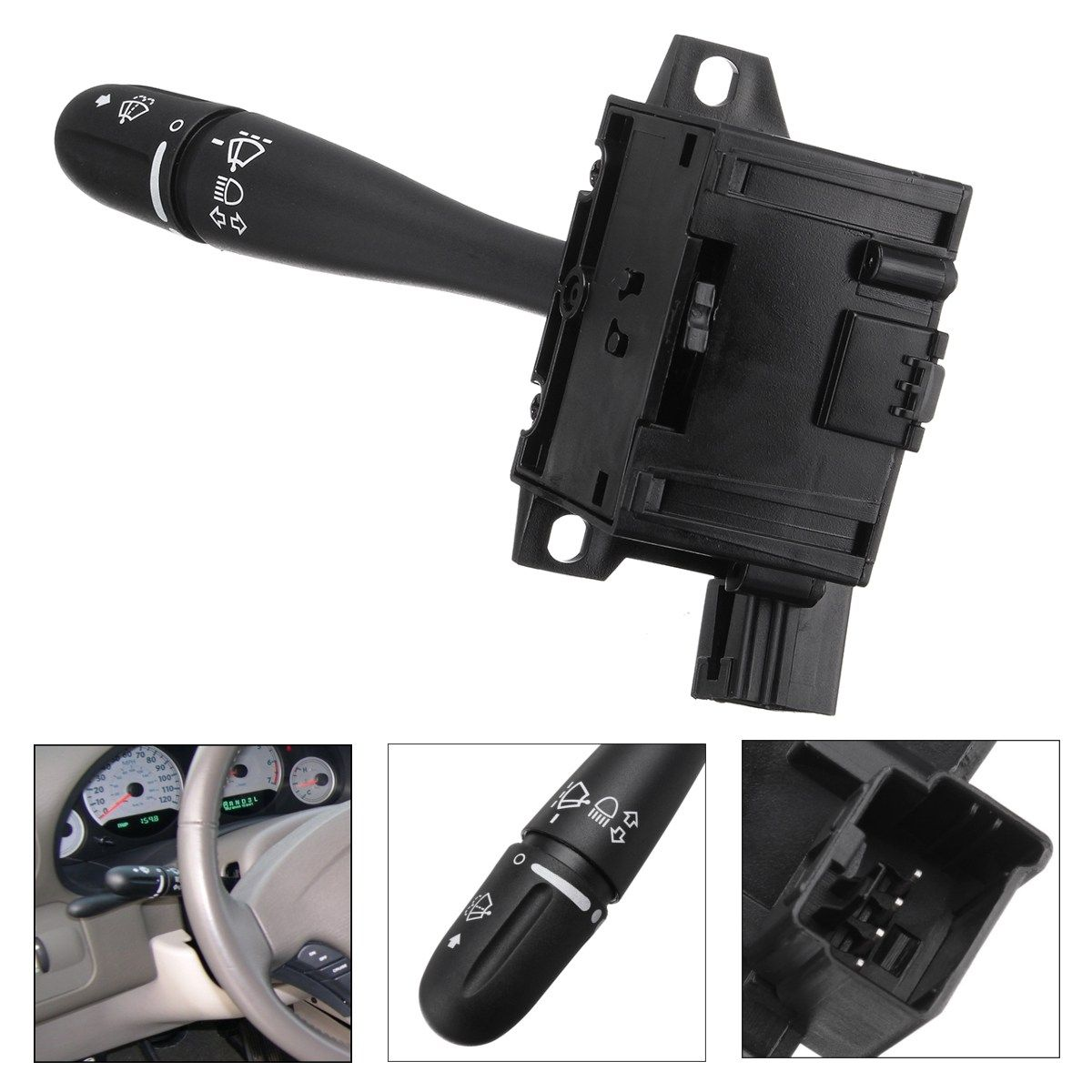 Steering Column Turn Signal Headlamp Switch Wiper Blade Unit For Dodge Grand Caravan Chrysler Voyager Town Country 2001 2002