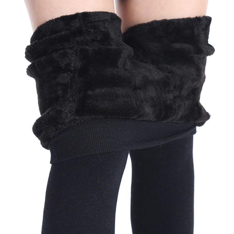 NORMOV de Femmes D'hiver Plus Cachemire Leggings Mode Grande Taille Chaud Super Élastique Faux Velours Hiver Épais Slim Leggings