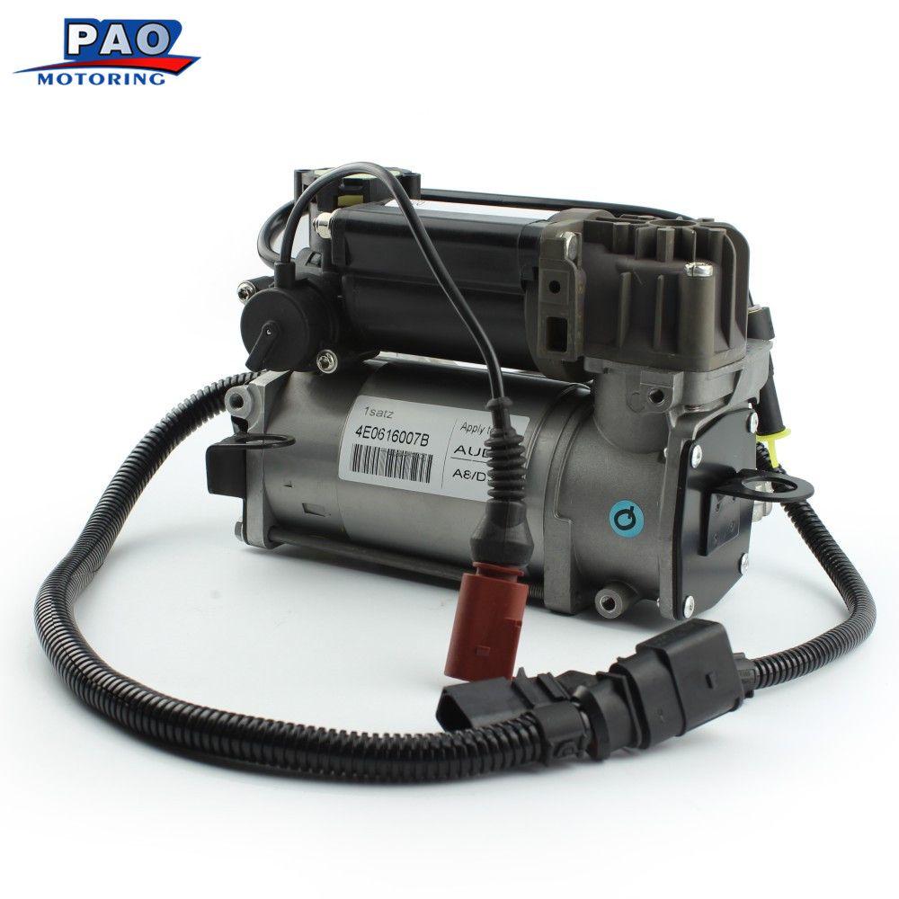 Neue Luftfederung Kompressor Für Audi A8 S8 D3 4E Luftpumpe OEM 4E0616007 4E0616005D 4E0616007B 4E0616005H