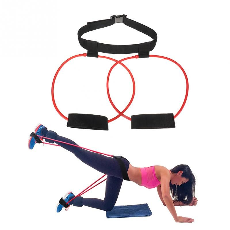 Women Booty Band Belt Workout Loop Elastic Muscle Trainer Fitness Glute Lifter Resistance Band Ladies Fitness Accessories #108*