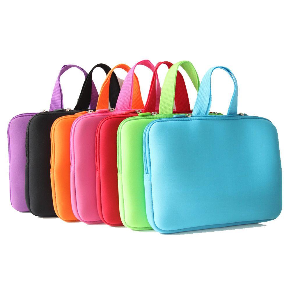 17 17.3 17.4 pouces sacoche pour ordinateur portable avec poignée fermeture éclair en néoprène pochette pour ordinateur portable pochette protecteur sacs pour HP Dell Toshiba Msi Lenovo