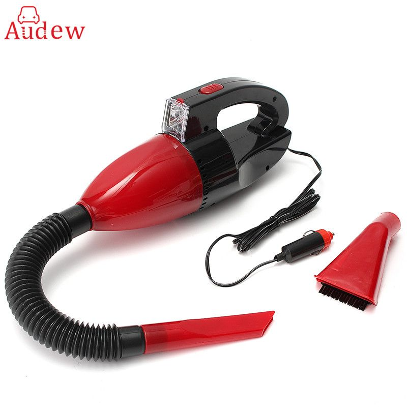 Car Vacuum Cleaner Portable Handheld Powerful Wet Dry Dual-use 60W 12V Auto Interior Parts Cleaning Tools Auto Vacuum Cleaner