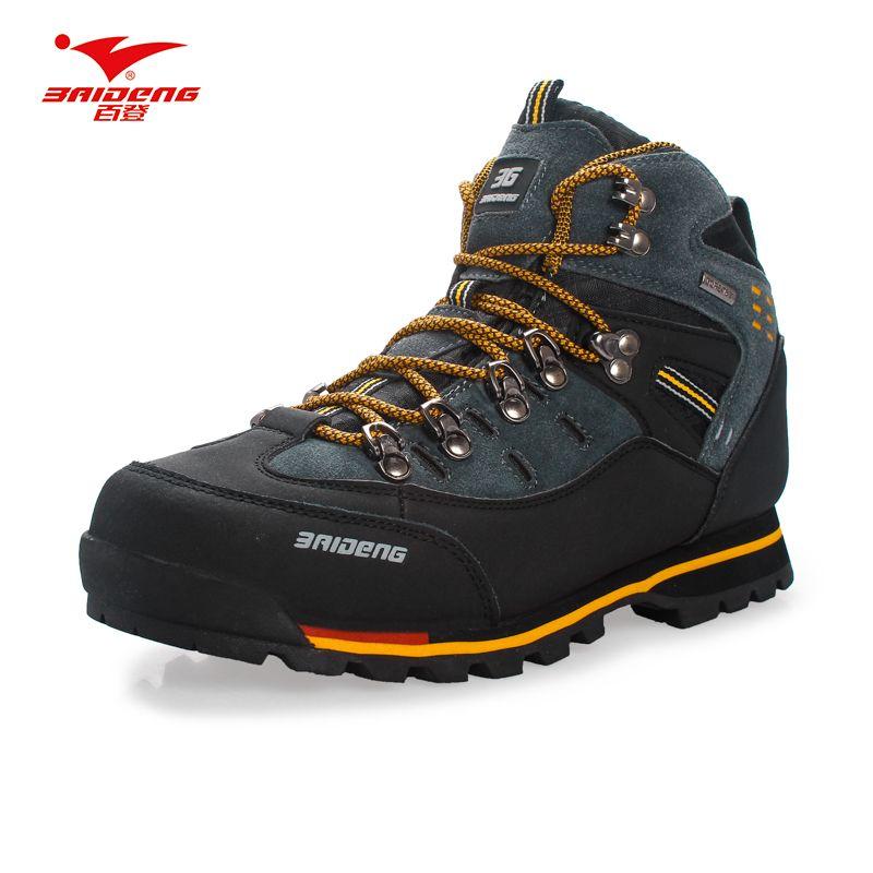 Men Hiking <font><b>Shoes</b></font> Waterproof leather <font><b>Shoes</b></font> Climbing & Fishing <font><b>Shoes</b></font> New popular Outdoor <font><b>shoes</b></font>