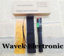 Envío libre 30 MW Localizador Visual de fallos de fibra óptica Visual de fallos buscador 30 MW VFL probador de Cable de fibra óptica láser 650nm 30 km