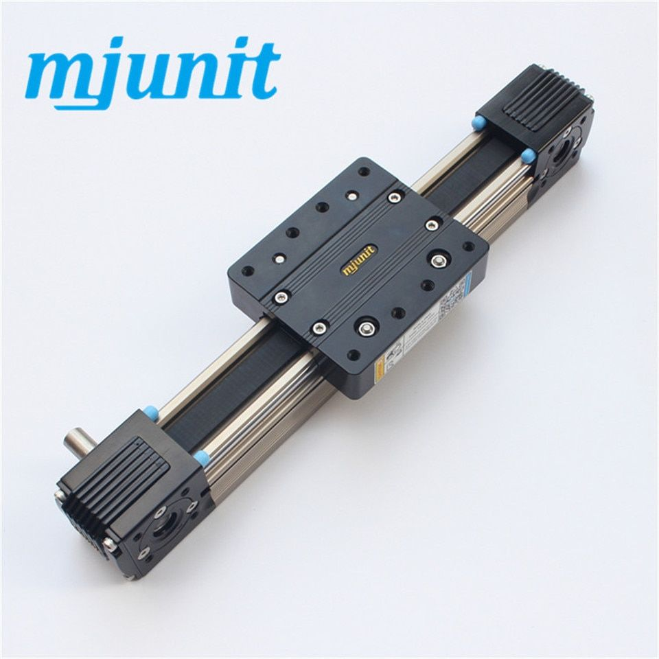 high speed automation equipment linear rail Belt Driven Linear Rail Actuator with 400mm stroke 2sets