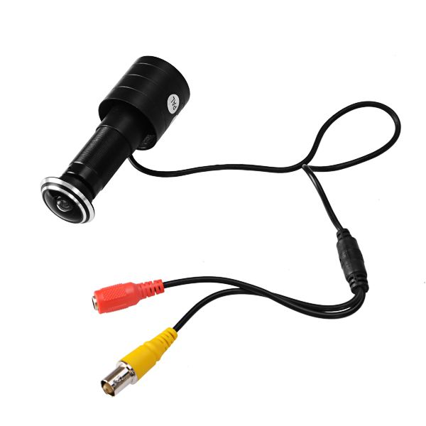 NOUVEAU Safurance 800TVL Mini Porte Eye Trou Caméra CCD Fisheye 1.7mm Objectif Grand Angle Judas Porte Caméra de Sécurité À Domicile