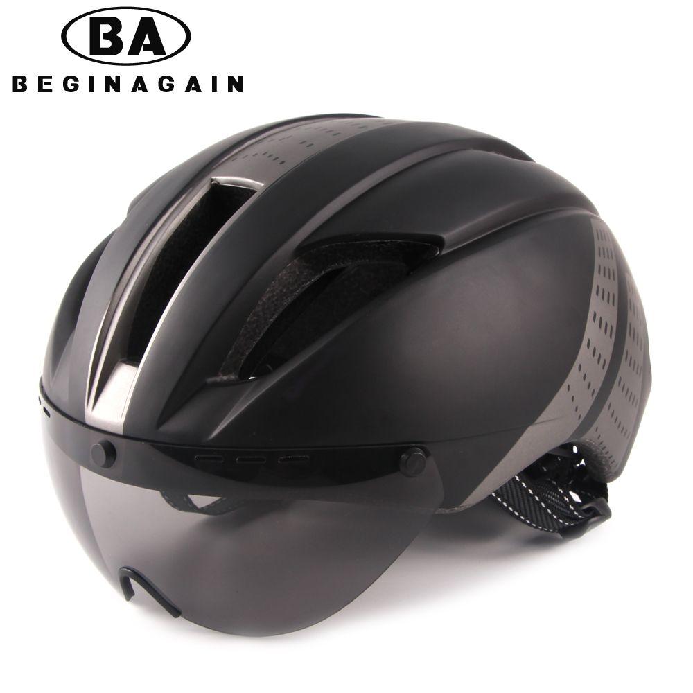 BEGINAGAIN Bike Helmet Men/Women Goggle Breathable In-mold Mountain Bicycle Helmet Road Ultralight Sport MTB Cycling Accessories
