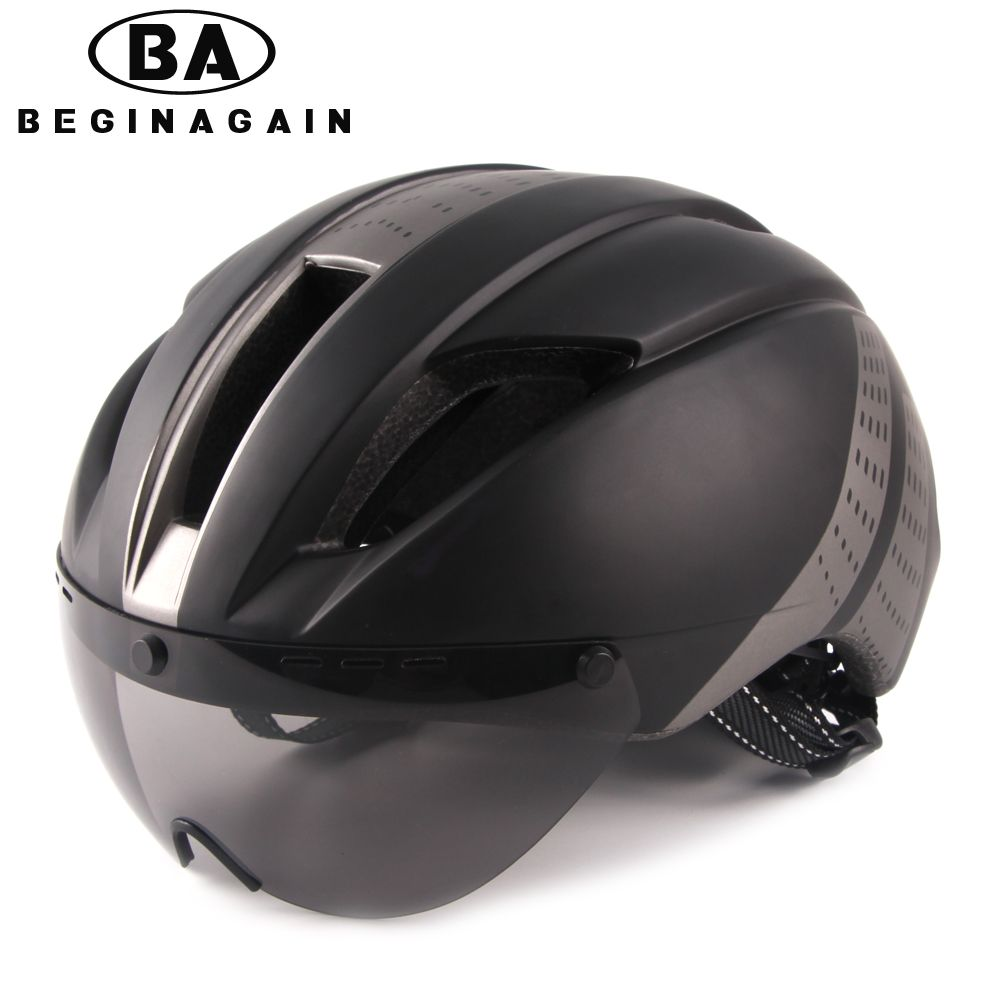 BEGINAGAIN Bike Helmet Men/Women Goggle Breathable In-mold Mountain Bicycle Helmet Road Ultralight Sport MTB Cycling Accessories