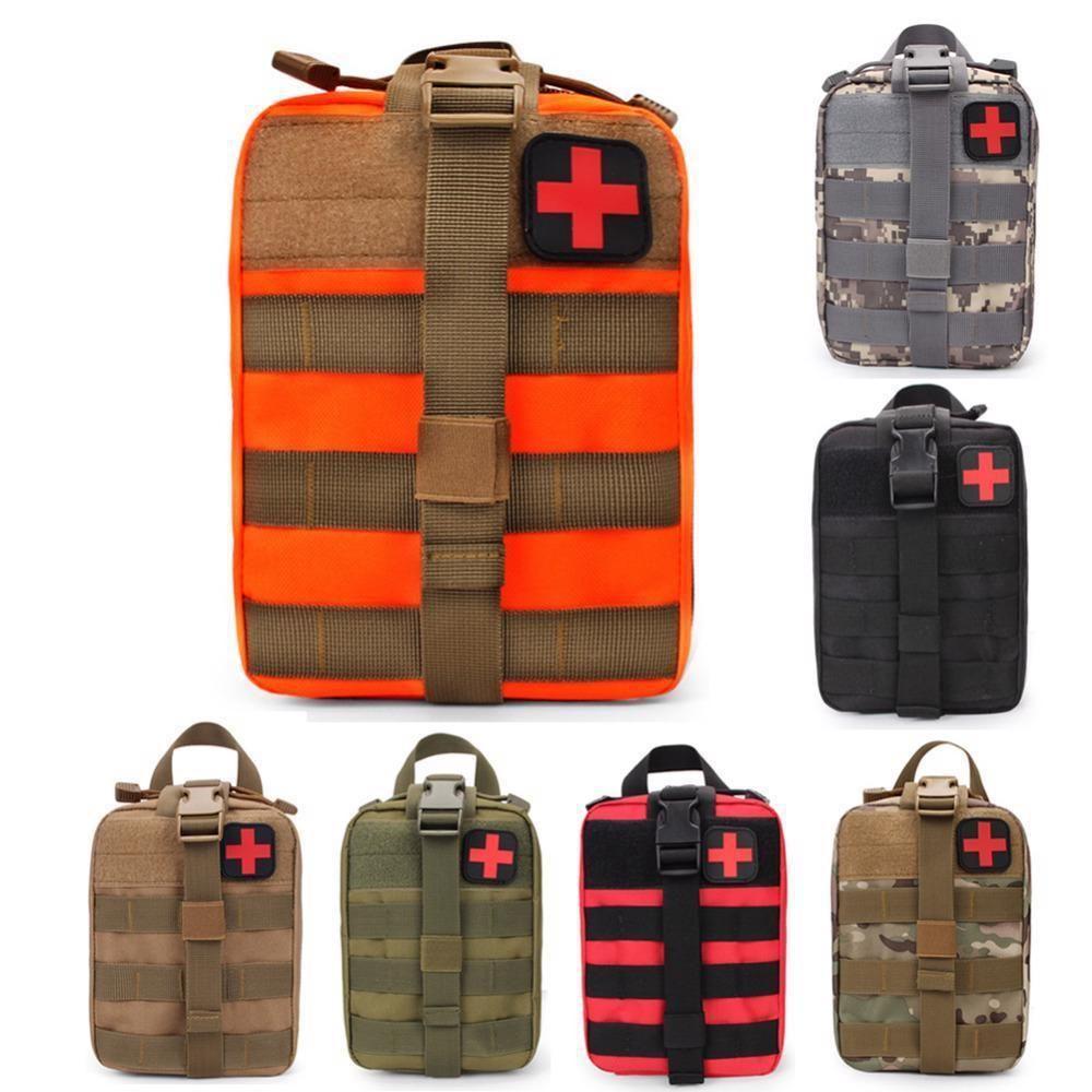 Sports de plein air devrait alpinisme escalade sauvetage sac tactique médical sauvage survie kit d'urgence