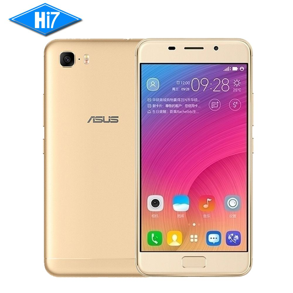 Nouveau ASUS Zenfone Pegasus 3 s ZC521TL 3 GB RAM 32 GB/64 GB ROM Octa Core 5.2 ''Android 7 5000 mAh D'empreintes Digitales 13MP 4G Mobile téléphone