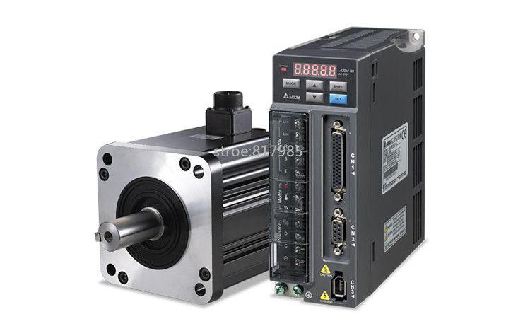 Best quality ACH09075BC servo motor+QS7AA020M servo motor driver for CNC Milling, turning ,engraving servo driver