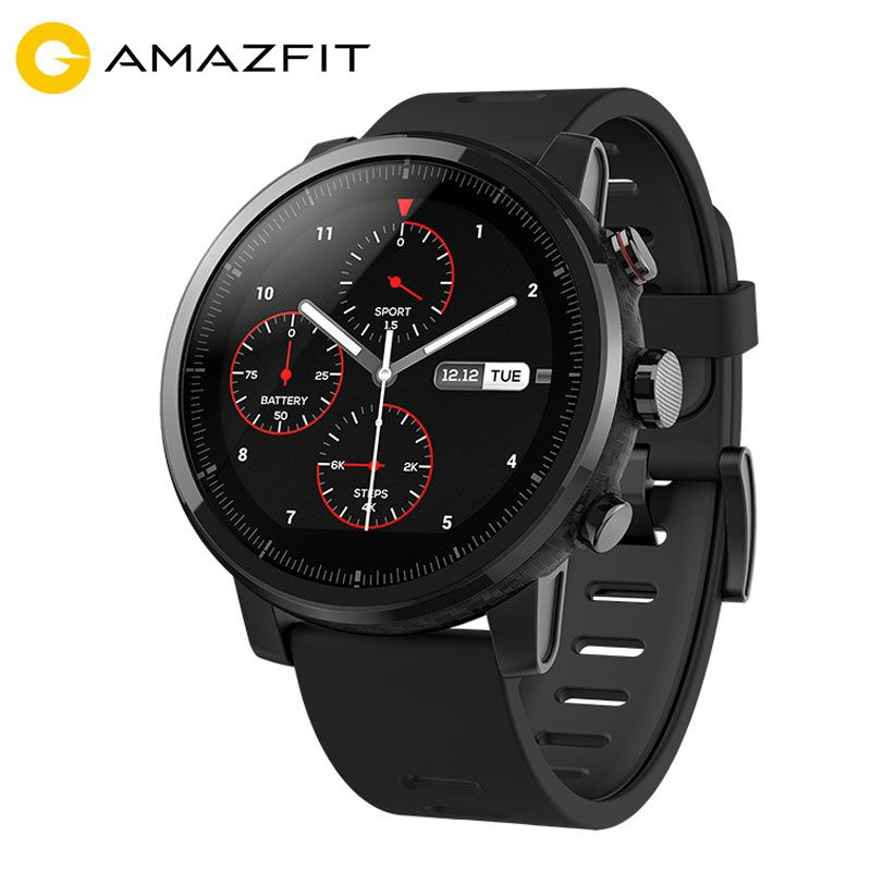 [Spanish Version] Xiaomi Huami Amazfit Stratos 2 Smart Watch Men Sports Smartwatch Android activity GPS 5ATM Heart Rate Monitor