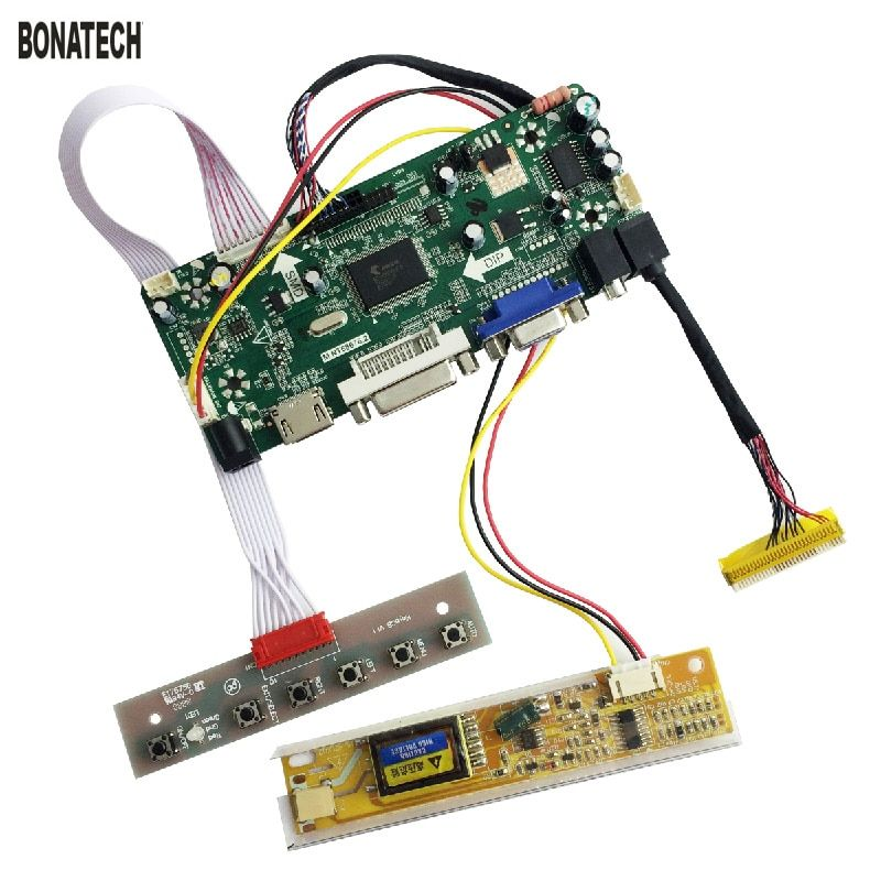 M.NT68676.2 laptop screen refit LCD driver board kit HDMI DVI High-definition LCD driver(leave panel numberin the order page)