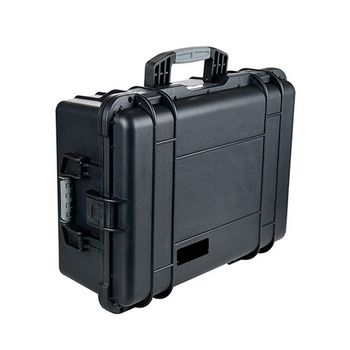 Injection moulding waterproof hard plastic suitcase with pick pluck foam