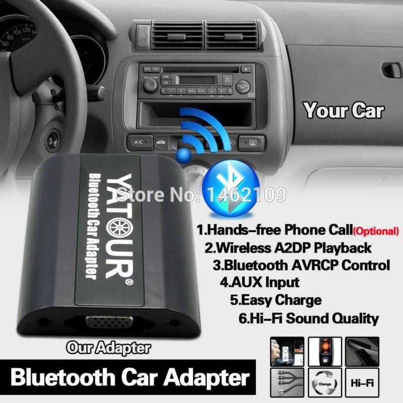 Yatour Bluetooth adaptateur de voiture numérique musique CD changeur interrupteur câble connecteur pour Mazda 2 3 5 6 MX-5 BT-50 Radios MPV CX-7
