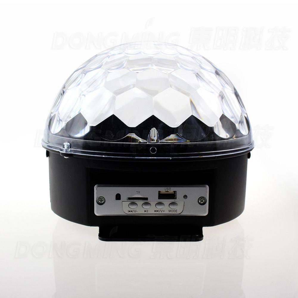Música Mágica Cristalina RGB LED Luces del Escenario Para El Partido de la Bola de Discoteca Discoteca luz con Mando A Distancia Envío Gratis