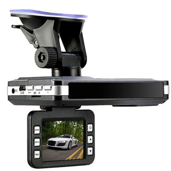 3 in1 (voix russe) détecteur de Radar de voiture DVR caméra 150 degrés lentille Full HD 1280x720 P 30FPS 2.0