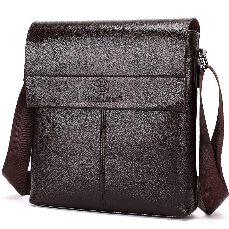 Nouvelle collection 2019 mode hommes sacs, hommes décontracté sac en cuir messenger, haute qualité homme marque sac d'affaires sac pour hommes