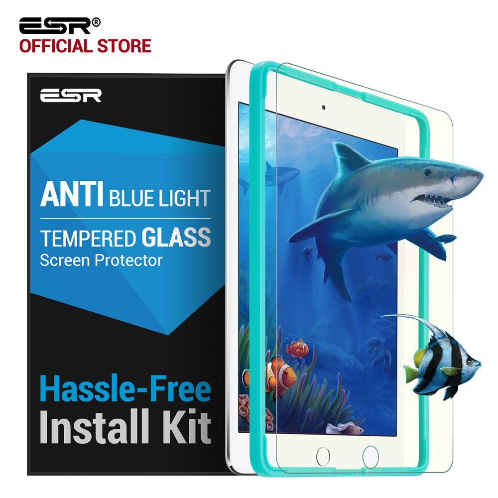Glas Film für iPad mini 4, ESR Anti Blue-ray Blaulicht Hartglas Displayschutzfolie mit Freies Applikator für iPad mini 4