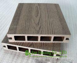 Bois Plastique Composite Plancher, extérieur WPC platelage Pour Balcon, Installation facile et Respectueux de L'environnement