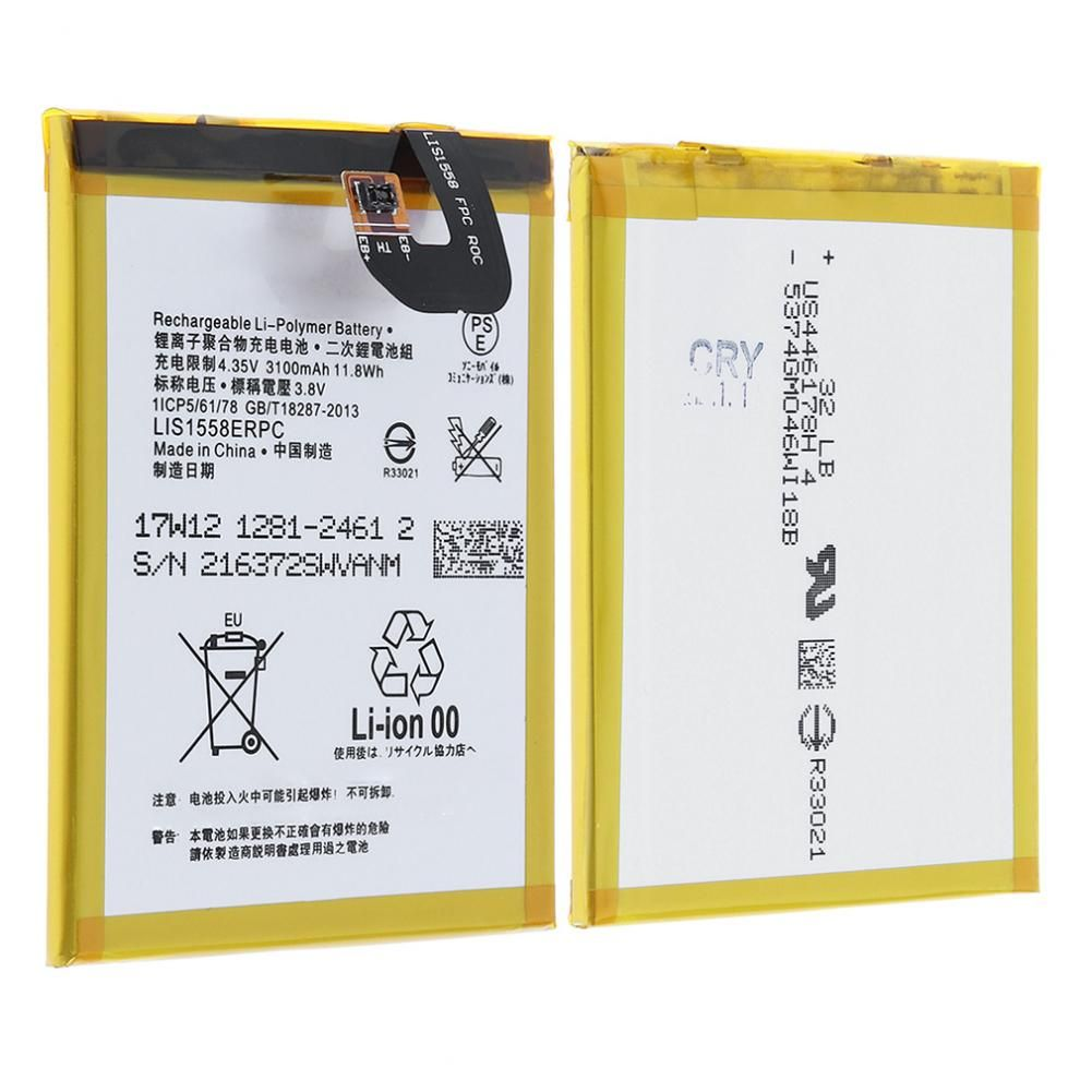 3.8V 3100mAh Rechargeable Built-in Polymer Li-ion Battery Replacement Phone Accumulator for Sony L55T L55U D6603 D6633 D6653 Z3