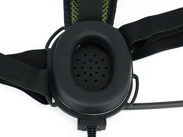 Z TACTICAL headset headphone radio parts BOWMAN EVO III TACTICAL HEADSET Military Standard Plug black DE FG