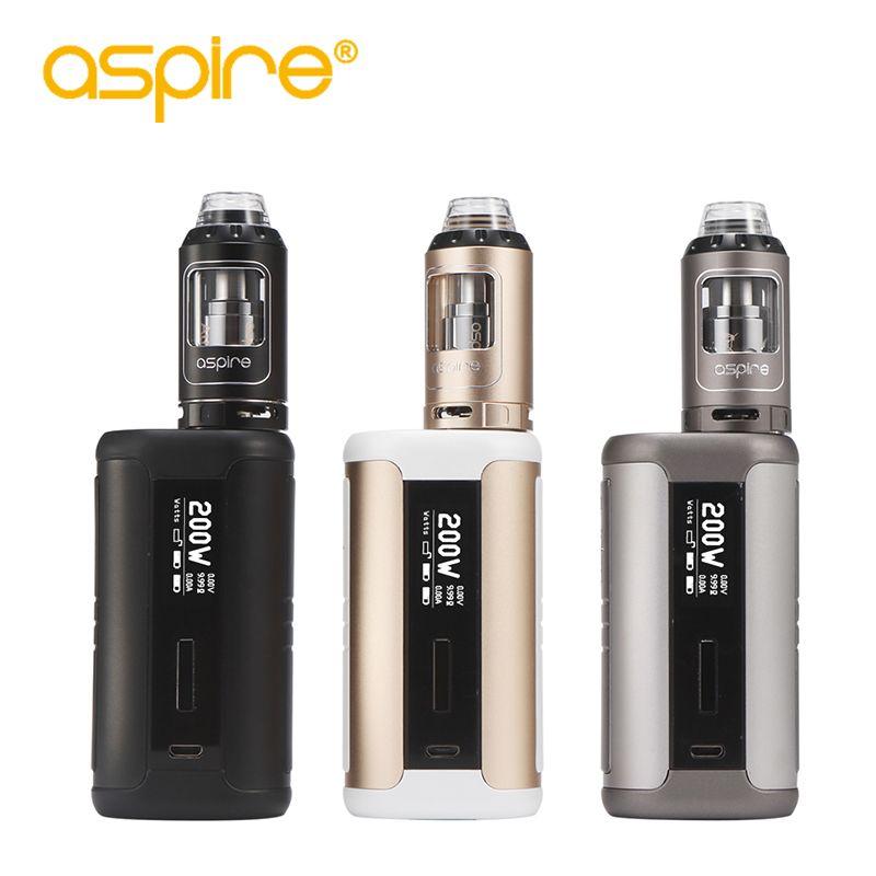 Electronic Cigarette Aspire Speeder Kit E-Cigarettes 4ml Athos Vape Tank Atomizer Vaporizer 200W Mod Vape Kit e cig starter kit