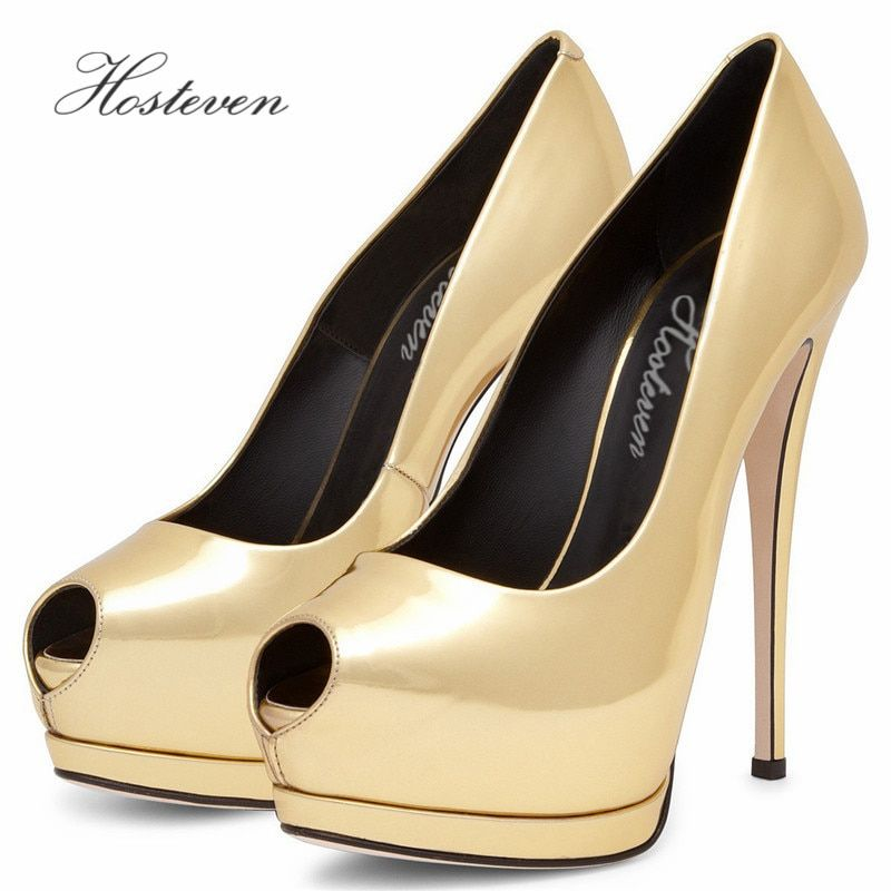 Hosteven Women's Shoes Spring Autumn Pumps New Wind Heels Pointed Fine With Single Ladies Sandals Shoes Woman Plus Size 34-44