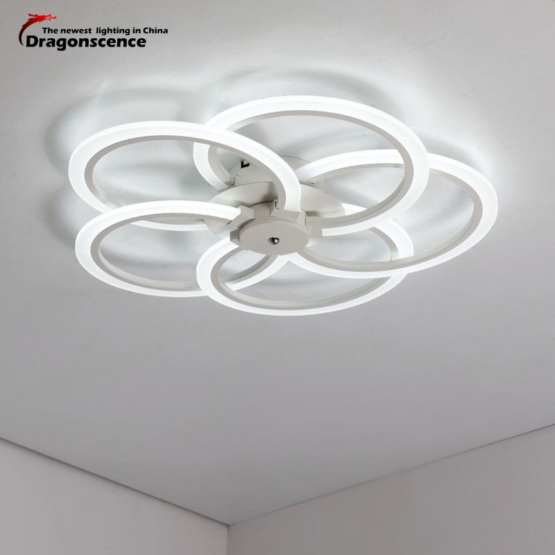 Dragonscence Modern LED Ceiling Light Ceiling LED Lamp fixtures for Bed Room Dining Room Study Kitchen Bathroom Foyer