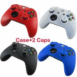 Silicone Soft Analog Joystick Thumb Stick Grip Caps Joypad Skin Protective Cover Case For Microsoft Xbox One Controllers Gamepad